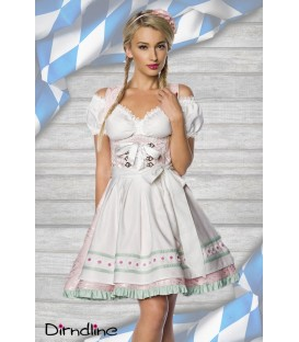 Pastell-Dirndl rosa - AT70023
