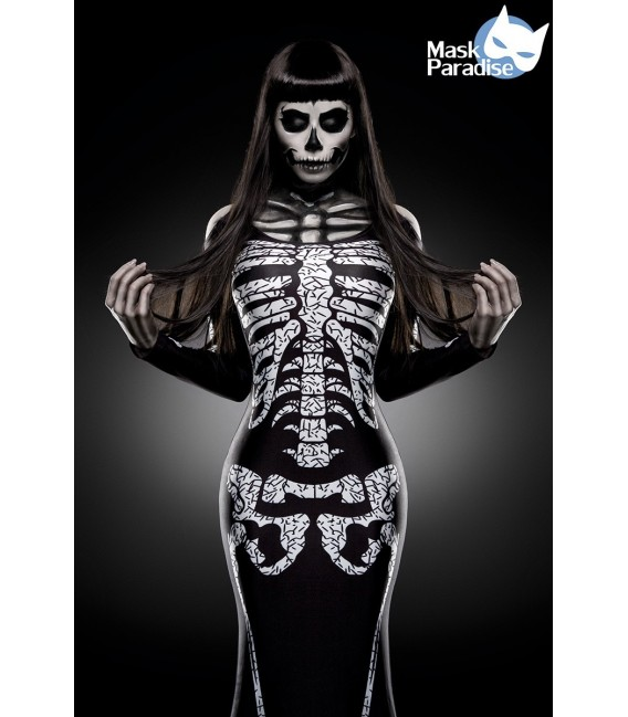 Skelett-Kostüm: Skeleton Lady - AT80003