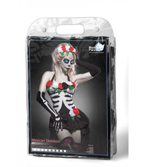 Mexican Skeleton Kostüm Komplettset von Mask Paradise