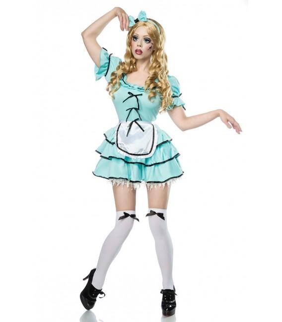 Horror Doll Kostüm Komplettset von Mask Paradise