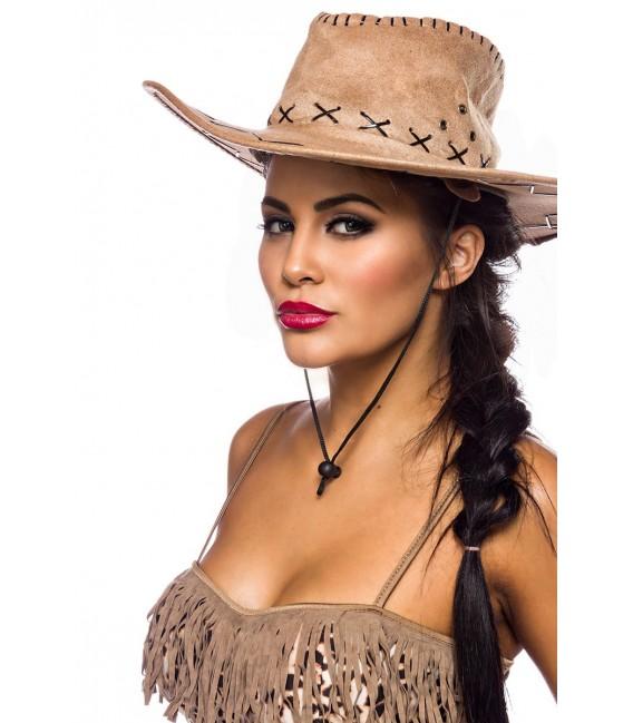 Westernkostüm Cowgirl Kostümset von Mask Paradise - 5 Großbild