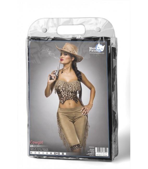 Westernkostüm Cowgirl Kostümset von Mask Paradise - 6 Großbild