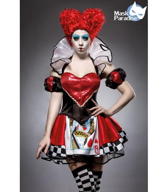 Red Queen Kostümset von Mask Paradise - 1 Großbild