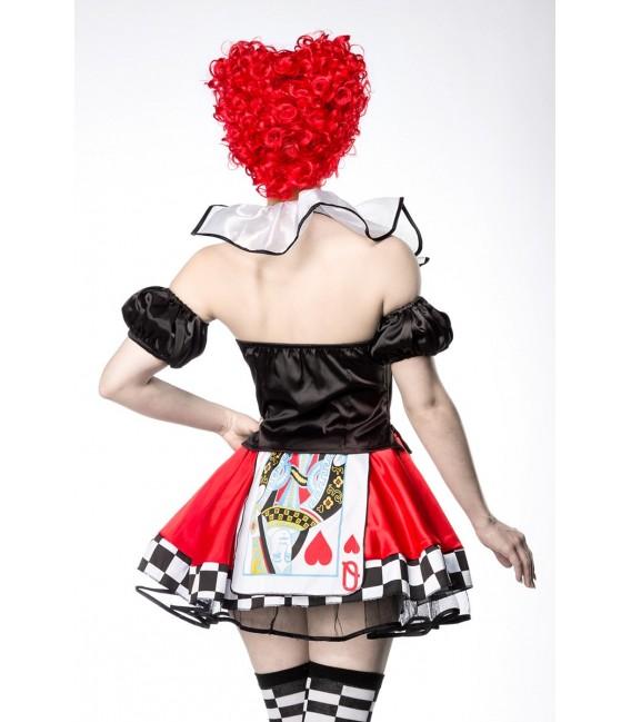 Red Queen Kostümset von Mask Paradise - 3 Großbild
