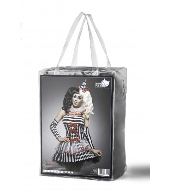 Harlequin Kostümset von Mask Paradise
