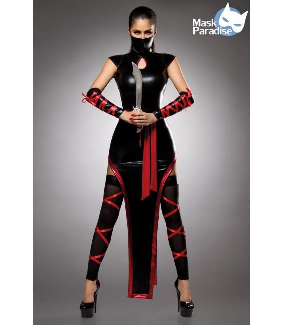 Ninjakostüm - Sexy Hot Ninja Kostüm Komplettset von Mask Paradise
