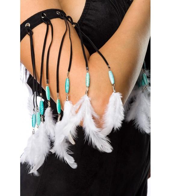 Indianerinkostüm - Dancing Squaw Kostüm Komplettset von Mask Paradise