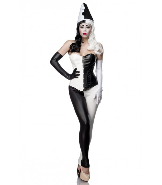 Classic Harlequin Kostümset von Mask Paradise