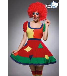 Funny Clown Kostüm Komplettset von Mask Paradise