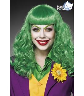 Lady Joker Perücke von Mask Paradise