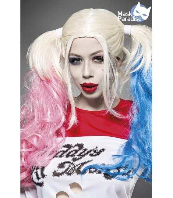 dip-dye gefärbte Suicide Harley Perücke von Mask Paradise