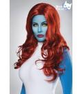 Mystic Cosplay Perücke von Mask Paradise mit einem lang, gewelltem Haar