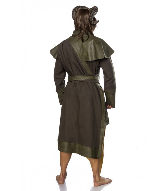 Dämonenkostüm Fantasykostüm -  Incubus Kostüm Komplettset Herren von Mask Paradise, besteht aus Tunika, Cape mit Band, Gürtel un