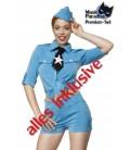 Pfadfinderkostüm - Kostüm Komplettset Retro Pathfinder von Mask Paradise, bestehend aus Schiffchen, Shorts, Bluse, Krawatte
