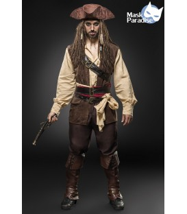 Piratenkostüm: Captain Jack - AT80112