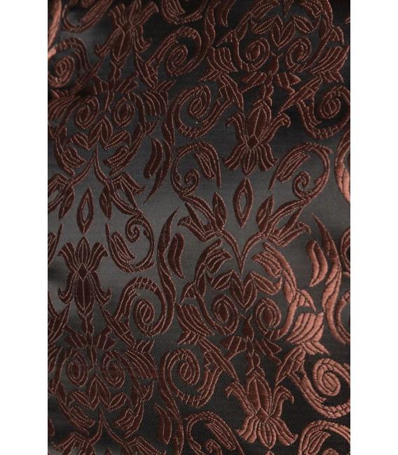 Premium Dirndl mit Bluse und Schürze braun/schwarz - AT70000