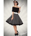 schulterfreies Swing-Kleid - AT50052