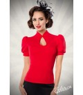 Jersey-Bluse rot - AT50056