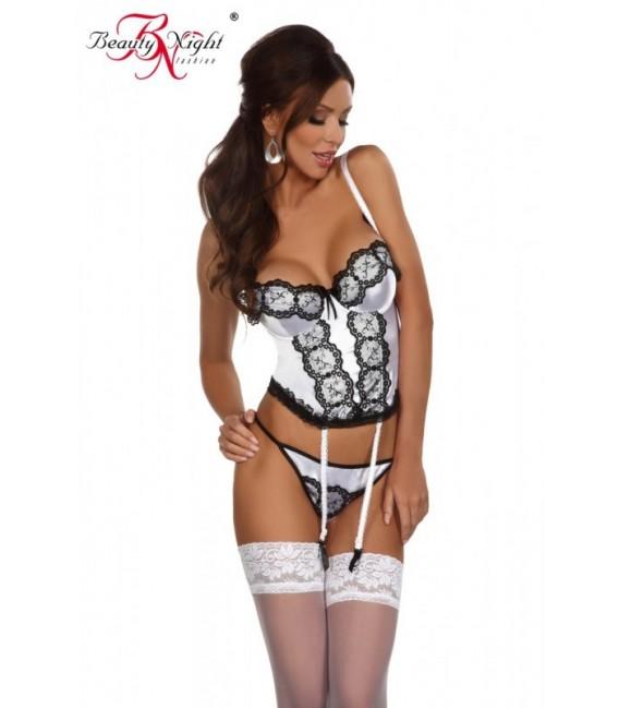Korsett BN Michele corset weiß