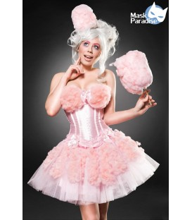 Cotton Candy Girl Kostüm 4251302137383