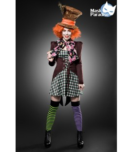 Hutmacher Girl Kostüm 4251302138076