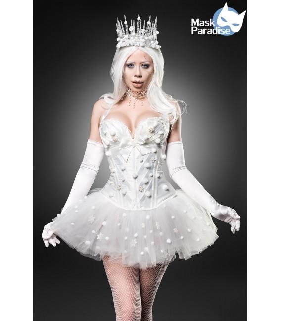 Snow Princess Kostüm Mask Paradise - AT80138 Großbild