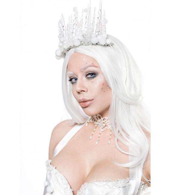 Snow Princess Kostüm Mask Paradise - AT80138 Bild 4 Großbild