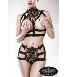 2-teiliges Harness-Set von Grey Velvet - AT15125