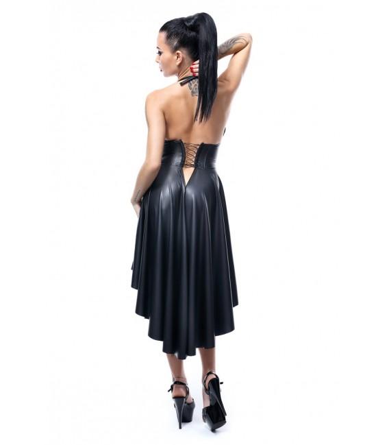 schwarzes Kleid Christine von Demoniq Hard Candy Collection Bild2