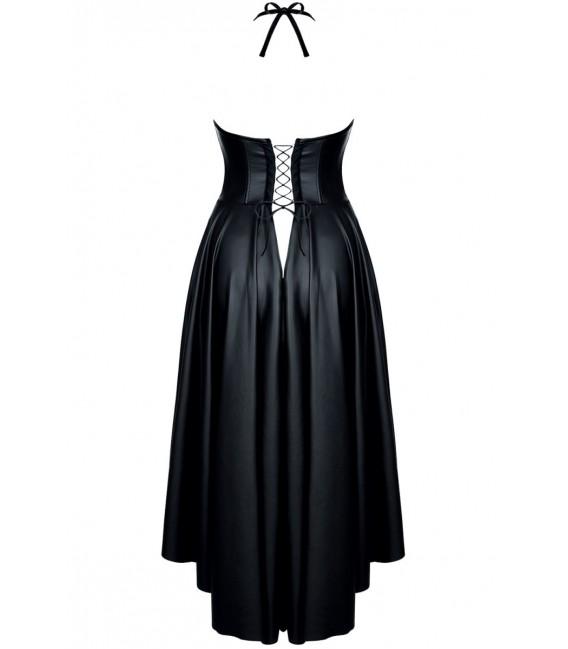 schwarzes Kleid Christine von Demoniq Hard Candy Collection Bild4