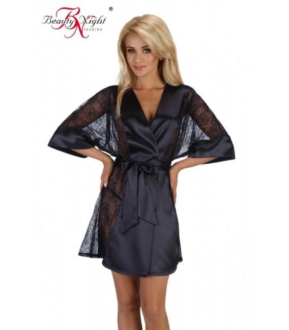 Kimono BN Stephanie schwarz Großbild