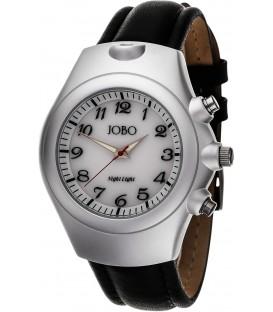 JOBO Herren Armbanduhr Quarz Analog Edelstahl Aluminium Leder Herrenuhr Bild1