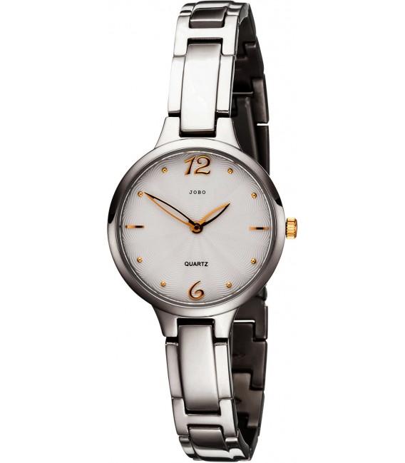 JOBO Damen Armbanduhr schmal Quarz Analog Titan Damenuhr mit schmalem Armband Bild1 Großbild