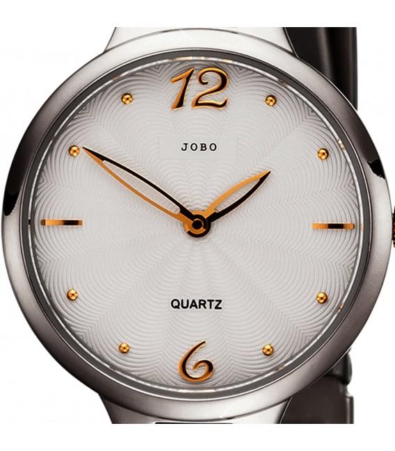 JOBO Damen Armbanduhr schmal Quarz Analog Titan Damenuhr mit schmalem Armband Bild2 Großbild
