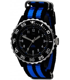 JOBO Kinder Armbanduhr Quarz Analog schwarz blau Kinderuhr Bild1