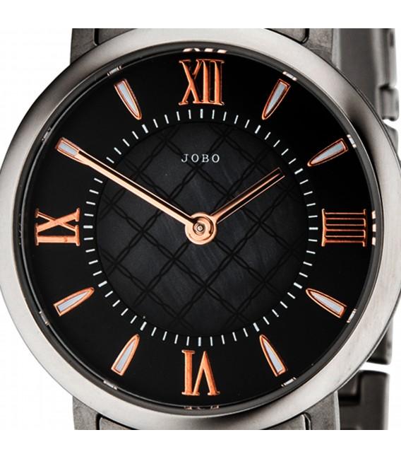 JOBO Damen Armbanduhr Quarz Analog Titan bicolor Damenuhr Bild2 Großbild