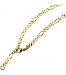 Fußkettchen Fußkette 333 Gold Gelbgold 25 cm Karabiner Bild1