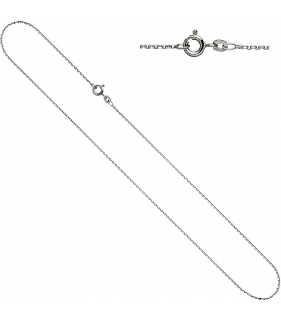 Ankerkette 585 Weißgold 13 mm 50 cm Gold Kette Halskette Weißgoldkette Bild1 Großbild