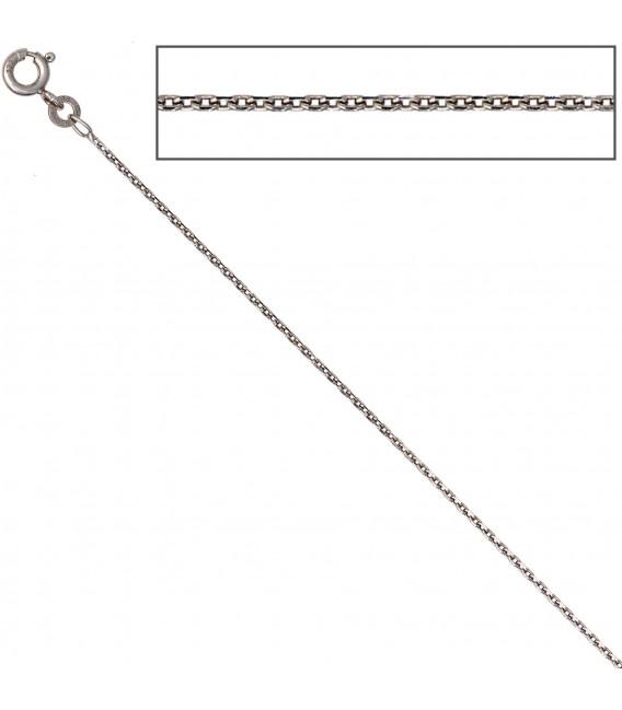 Ankerkette 585 Weißgold 13 mm 50 cm Gold Kette Halskette Weißgoldkette Bild3 Großbild