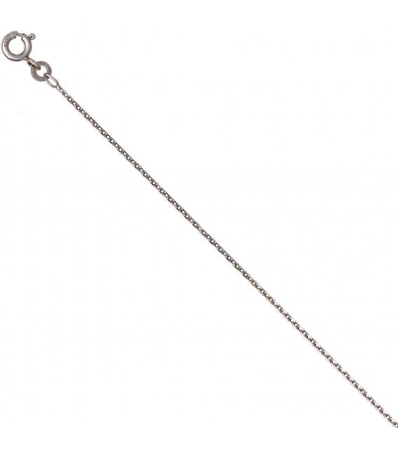 Ankerkette 585 Weißgold 13 mm 50 cm Gold Kette Halskette Weißgoldkette Bild4 Großbild