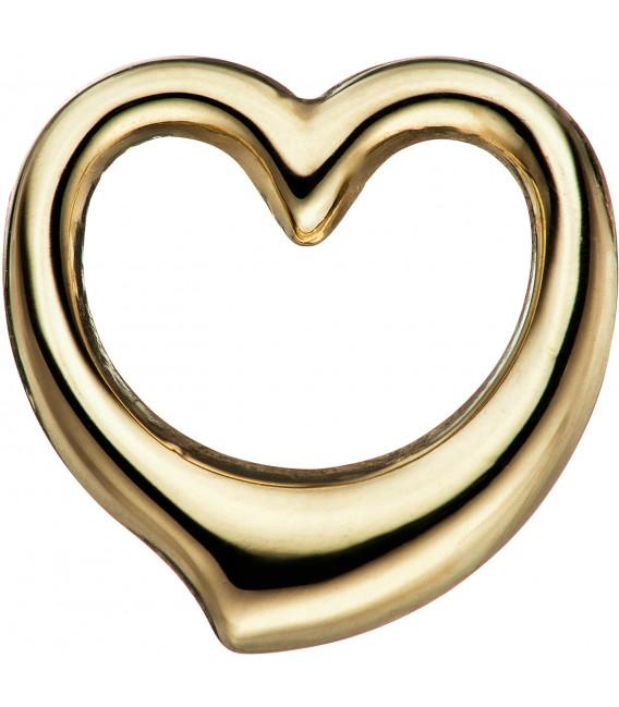 Kinder Anhänger Herz Schwingherz 585 Gold Gelbgold Herzanhänger Goldherz Bild1 Großbild