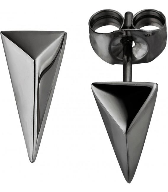 Ohrstecker dreieckig aus Edelstahl Ohrringe Dreieck Bild1 Großbild