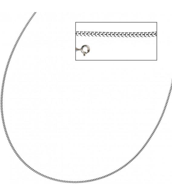 Großbild Panzerkette 925 Sterling Silber 17 mm 42 cm Halskette Kette Silberkette Bild3
