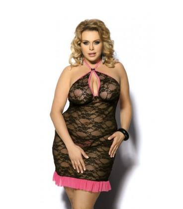 AS Sinopa chemise schwarz-pink