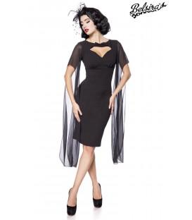 Retro Kleid schwarz - AT50107