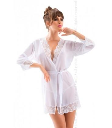 IR Cassidy dressing gown weiß