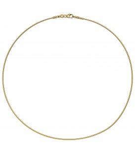 Halsreif 585 Gold Gelbgold 45 cm Goldkette Goldreif - Bild 1