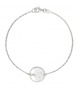 Armband Baum Lebensbaum Weltenbaum 925 Sterling Silber 19 cm - Bild 1