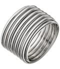 Damen Ring breit 925 Sterling - 51070