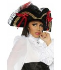 Piratenhut schwarz - AT13243